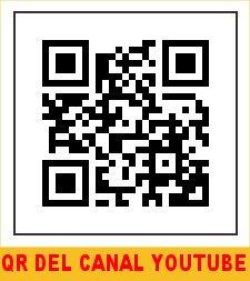 QR DE SUBCRIBIRSE A MI CANAL CON NOMBRE