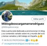 NUEVA CUENTA TWITTER MIBLOGDEOSCAR...