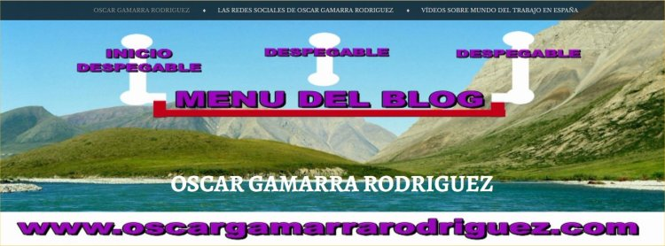 el menu de mi blog con domineo