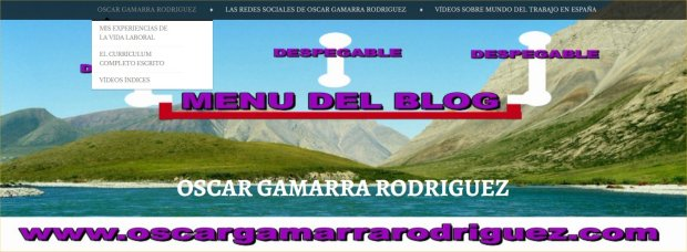 MENU DE OSCAR GAMARRA RODRIGUZ